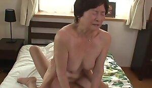 Seventy five years grey granny