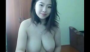 Chinese cam slut with amazing tits