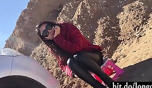 Fucking a Sexy Chinese Become entangled Hiker !!