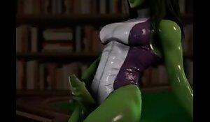 Futa She Hulk