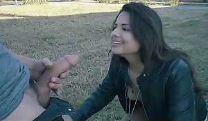 Teamskeet -hot latin babe picked up & drilled