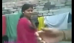Desi girl Nandini operate Bristols and his husband and swain