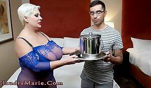 Big Tit Claudia Marie Fucked Twice
