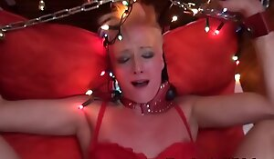 Euro sub in lingerie assfucked and fisted