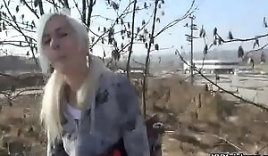 Teen Euro Babe Fucked In Public By Horny Tourist For A Few Euros 15