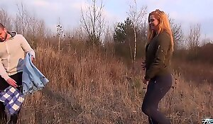 Naï_ve Blonde Rammed Outdoors and Filmed for the First Time