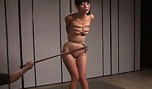Asian babe gain possession of unscrupulous maledom