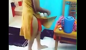 indian girl removing sick with front of her bf with hindi audio