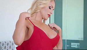 Brazzers - Mommy Got Pair -  Tipping The Driver scene starring Tegan James and Keiran Lee