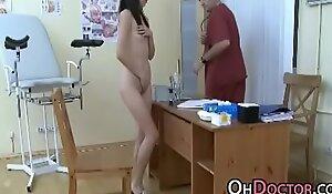 Pervert Doctor Exams Asian Teen Pussy