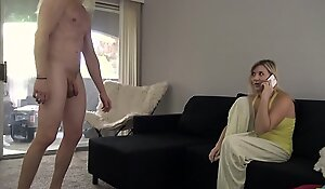 Mom Gets Fucked By Noctambulism Son - Fifi Foxx and Cock Ninja
