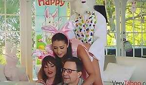 Fucking my bunny brother on easter