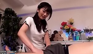 Japanese looker gives incredible massage
