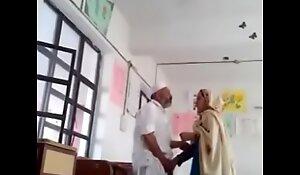 Desi Hijab Cram Blowjob and xxx sexual intercourse Inside class with Maid (ActModel KATStory)