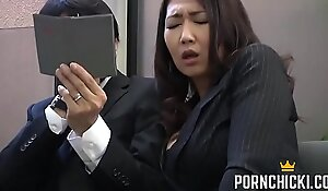JAV Secretary fucked by her older boss - More at PornChicki x-videos.club